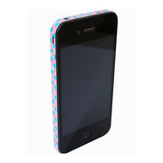 【iPhone4S/4】COLORCTORS Side Skin DOT(PINK/BLUE)