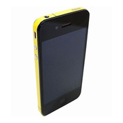 【iPhone4S/4】COLORCTORS Side Skin YELLOW