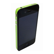【iPhone4S/4】COLORCTORS Side Skin LIGHT GREEN