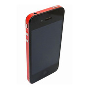 【iPhone4S/4】COLORCTORS Side Skin RED