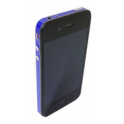 【iPhone4S/4】COLORCTORS Side Skin BLUE