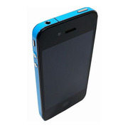 【iPhone4S/4】COLORCTORS Side Skin SKY BLUE