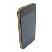 【iPhone4S/4】COLORCTORS Side Skin GOLD(ラメ)