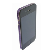 【iPhone4S/4】COLORCTORS Side Skin VIOLET(ラメ)