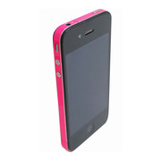 【iPhone4S/4】COLORCTORS Side Skin SHOCKING PINK(蛍光)