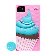 iPhone 4S / 4 Creatures: Delight Cupcake, Lipstick Pink