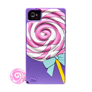 iPhone 4S / 4 Creatures: Delight Cupcake, Lolly Pop - Violet