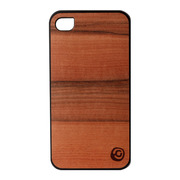【iPhone4S/4 ケース】Real wood case Guneine Saisai