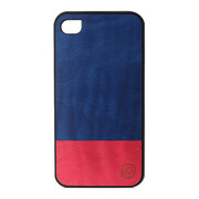 【iPhone4S/4 ケース】Real wood case Harmony Midnight Fever