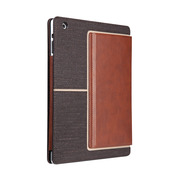 【iPad(第3世代/第4世代) iPad2 ケース】Venture - Dark Brown/Light Brown