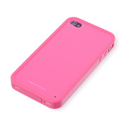【iPhone4S/4 ケース】Zero 5 Pro Color for iPhone 4/4S - Pink
