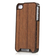 【iPhone4S/4 ケース】Liquid Wood for iPhone 4/4S - Kokos Teak