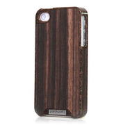 【iPhone4S/4 ケース】Liquid Wood for iPhone 4/4S - Kokos Ebony