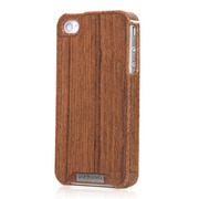 【iPhone4S/4 ケース】Liquid Wood for iPhone 4/4S - Busche Teak