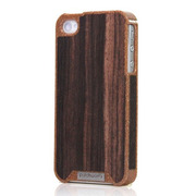 【iPhone4S/4 ケース】Liquid Wood for iPhone 4/4S - Busche Ebony