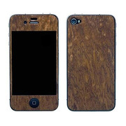 【iPhone4S/4】Naked Nature Collection for iPhone 4/4S - Sapele Burl