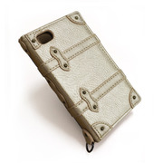 【限定】【iPhone ケース】Trolley Case for iPhone4/4S (ゴールド)