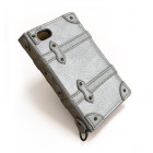 【限定】【iPhone ケース】Trolley Case for iPhone4/4S (シルバー)