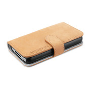 【iPhone4S/4 ケース】SPIGEN SGP Diary type Case Valentinus Vintage Edition Brown for iPhone4S/4