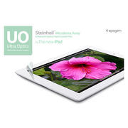 【iPad(第3世代/第4世代) iPad2】SPIGEN SGP Steinheil UO Ultra Optics Premium LCD Protection Film The new iPad