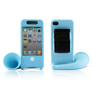 【iPhone4S/4】Horn Bike Blue