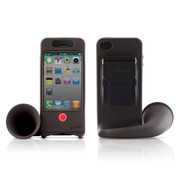 【iPhone4S/4】Horn Bike Black