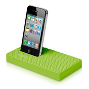 【iPhone iPod】essential TPE nanoblock Universal Dock グリーン