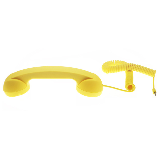 POP PHONE - RETRO HANDSET イエロー