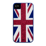 【iPhone ケース】Case-Mate iPhone 4S / 4 Barely There Case Blue / Union Jack