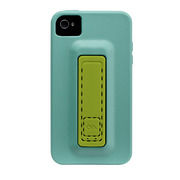 【iPhone ケース】iPhone 4S / 4 Snap Case, Turquoise 325c/Lime 583c