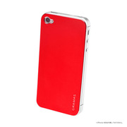【iPhone4S/4 スキンシール】Real Metal Back Panel R iPhone4S/4