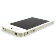 【iPhone4S/4 ケース】Skinny Fit Band (クリア)
