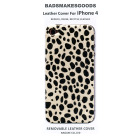 BADSMAKESGOODS レザーカバー for iPhone4+4S(Fur-PantherWhite)