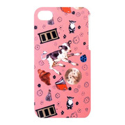 【iPhone ケース】kim flower land iPhone4S/4