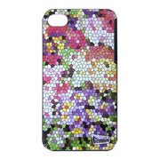 【iPhone ケース】Mosaic Flower iPhone4S/4