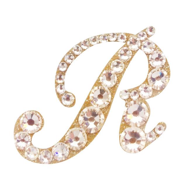 KIRA Rich Jewel seal/イニシャル 【R】シルク