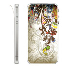 【iPhone】Leaflick スキンシール for iPhone4/4S (Asian Art)
