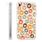 【iPhone】Leaflick スキンシール for iPhone4/4S (Lots of love)