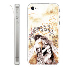 【iPhone】Leaflick スキンシール for iPhone4/4S (Lovers)