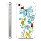 【iPhone】Leaflick スキンシール for iPhone4/4S (Ladybug)