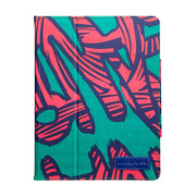 【iPad(第3世代/第4世代) iPad2 ケース】Printed Coated Canvas iPad Slim Stand - Graffiti?iPad (第3世代) / iPad2