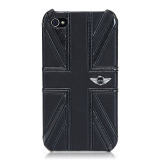 【iPhone ケース】CG Mobile MINI Union Jack PU Leather Case for iPhone 4S/4