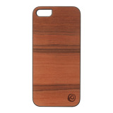 【iPhoneSE/5s/5 ケース】Real wood case Genuine Sai Sai ブラックフレーム
