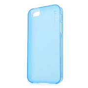 【iPhoneSE/5s/5 ケース】Soft Jacket 2 XPOSE with Screen Guard, Clear Blue