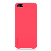 【iPhoneSE(第1世代)/5s/5 ケース】Colorant Case C1 (Hot Pink)
