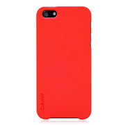 【iPhoneSE(第1世代)/5s/5 ケース】Colorant Case C1 (Flame Red)