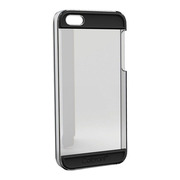 【iPhoneSE(第1世代)/5s/5 ケース】Colorant Case C2 (Clear×Black)