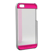 【iPhoneSE(第1世代)/5s/5 ケース】Colorant Case C2 (Clear×Pink)