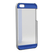 【iPhoneSE(第1世代)/5s/5 ケース】Colorant Case C2 (Clear×Blue)