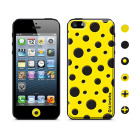 【iPhoneSE/5s/5 ケース】Cushi Dot Yelow